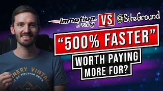 Siteground vs Inmotion: Performance vs Affordability
