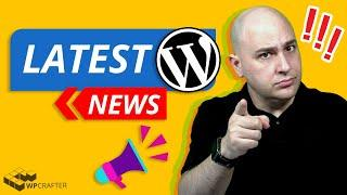 Latest WordPress News - New Security Alerts, Swag Unboxing, Form Plugins, & Live Q & A