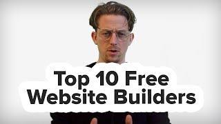 What's The Best Free Website Builder? (10 Free Website Builders in 4 Minutes)