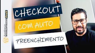 Como Deixar o Checkout com Auto Preenchimento Através do CEP   TUTORIAL WOOCOMMERCE