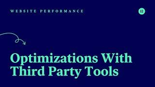 [05] Optimizations With Third Party Tools