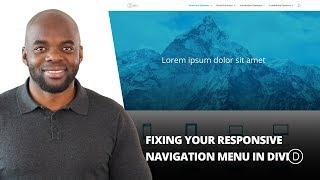 Fixing Your Responsive Navigation Menu in Divi