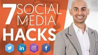 7 Social Media Hacks That'll Make Your Business Grow Faster | Neil Patel
