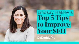 Lindsay Halsey's Top 5 Tips to Improve Your WordPress SEO - WordCamp Denver - GoDaddy Pro