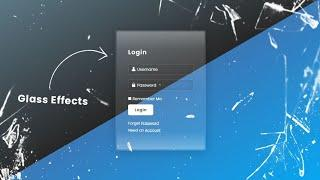 Animated Login Form Design using Html & CSS