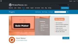 Getting Started With Quiz Maker Free WordPress Plugin