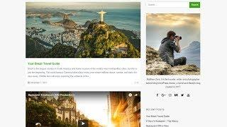 How To Create A WordPress Blog? Blog Pages, Posts Grid & Masonry