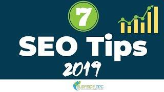 7 SEO Tips For Websites - Improve Your Google Search Engine Rankings