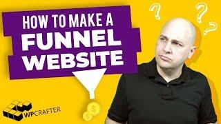 How To Make A Sales Funnel Website With WordPress - Including, Checkout, Order Bumps, & Upsells
