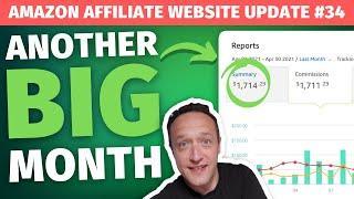 April AFFILIATE MARKETING INCOME REPORT (BestRoofBox.com)