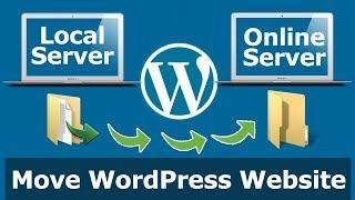 Move/Migrate Wordpress Website from Localhost to Online Server using Plugin