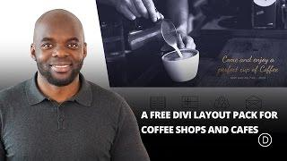 Coffee House A Free Divi Layout Pack for Coffee Shops and Cafes