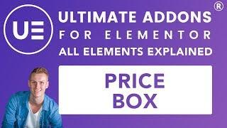 Ultimate Addons Elementor | Price Box