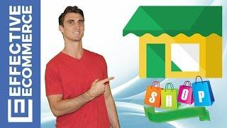 Ecommerce Course Starting an Online Store Part 1 of 7