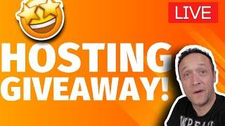 HOSTING GIVEAWAY x CHAT x QUESTIONS x SITE REVIEWS - LIVE
