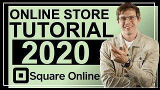 SQUARE ONLINE Tutorial For Beginners  (Create An Easy Online Store!)