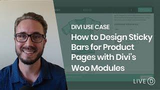 How to Design Sticky Bars for Product Pages with Divi's Woo Modules