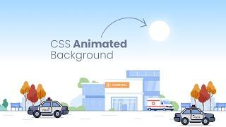 How To Create Animated Background for Website using Html & CSS | CSS Animation Effects