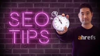 SEO Tips to Improve Organic Traffic in Under 15 Minutes