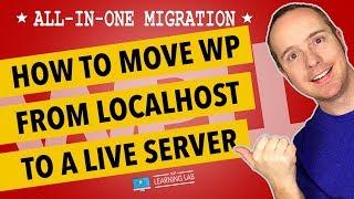 How To Move A WordPress Website From localhost To Server Using All-In-One Migration WordPress Plugin