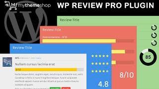 WP Review Pro Plugin by MyThemeShop