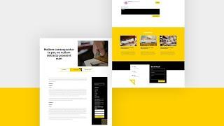 Download a FREE Blog Post Template for Divi's Renovation Layout Pack