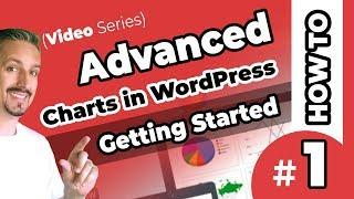 Charts In WordPress - Getting Started With Visualizer Pro [Video #1]