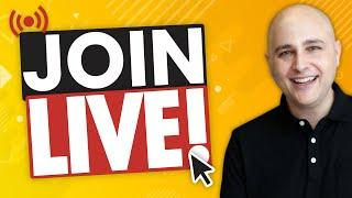 Live Stream Goof ... Sorry ... Ask Me Anything Live!