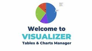 Welcome To Visualizer: Tables And Charts Manager Plugin For WordPress