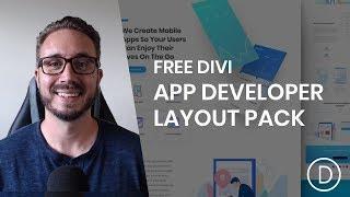 Get a FREE App Developer Layout Pack for Divi