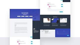 Download a FREE Blog Post Template for Divi's Web Agency Layout Pack