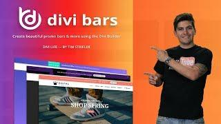 How To Create Promo Bars For the Divi Theme With DIVI BARS!