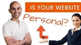 How to BOOST Website Conversions By Personalizing Your Website and Marketing Message