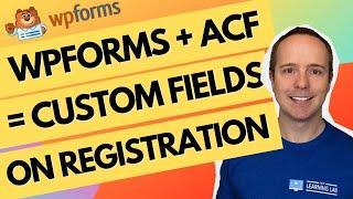 Create A Custom Login Page Custom Registration Page With Custom Fields Using WPForms, ACF, Elementor