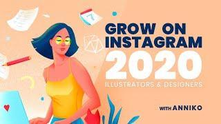 INSTAGRAM FOR ILLUSTRATORS // How To Grow Instagram Followers in 2020 | TEMPLATEMONSTER