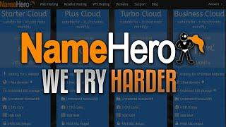 About NameHero's High Speed Web Hosting