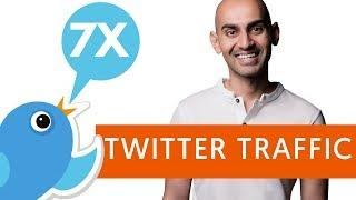 How to Get 7 Times More Twitter Traffic   Twitter Marketing Tips