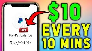 Get Paid $10 Every 10 Minutes | Earn FREE PayPal Money NOW! *NEW 2020*