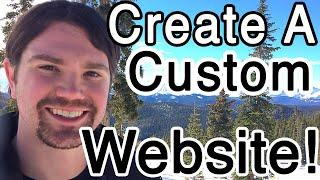 How to Make a CUSTOM Website and Blog with WordPress - BEGINNER Tutorial