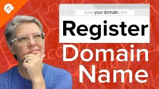 How to Register a Domain Name (+ simple tip to get it for FREE)