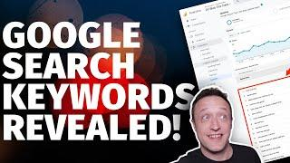 Google Search Keywords Report in Analytics - [How to connect Google Analytics to Search Console]