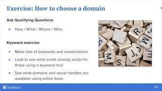 Webinar: Fundamentals of a Website; Decoding Domains