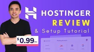 Hostinger Review & WordPress Setup Tutorial - Best Cheap Web Host 2020?