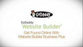 GoDaddy How-to - Help Customers Find Your Business With Website Builder Business Plus