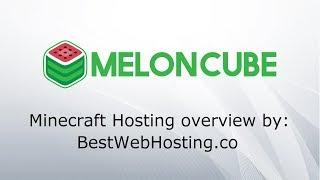 MELONCUBE MINECRAFT HOSTING - secure and reliable Minecraft servers - overview by Best Web Hosting