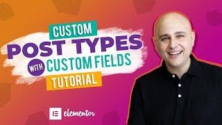 How To Create Custom Post Types & Custom Fields WordPress Tutorial