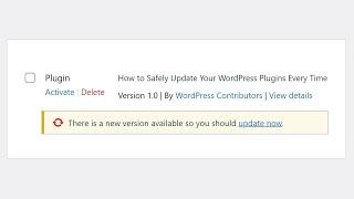 How to Safely Update Your WordPress Plugins Every Time