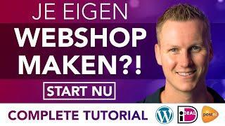 Hoe Maak Je Een Webshop 2021 *Dutch Tutorial*