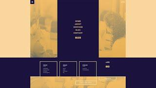 Download a FREE Header and Footer Template for Divi's PR Firm Layout Pack