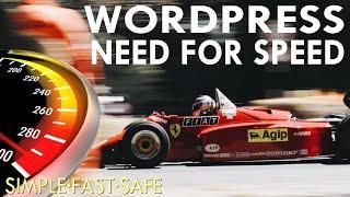 How To Increase Website Speed 3x In 15 Mins ~ 2020 ~ A Wordpress Speed Optimization Tutorial